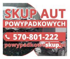 Samochody powypadkowe kupię - Skup aut po wypadku,samochodów popsutych